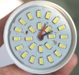 Marco de aluminio de B22 SMD dentro de la bombilla del LED