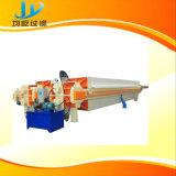 Filtropressa con il nastro trasportatore e piattaforma di funzionamento per olio