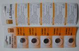 Tasten-Zellen-Batterie Cr1220 der Qualitäts-3V