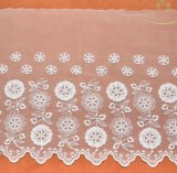 Шнурок ткани шнурка вуали сетки платья венчания