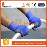 Gants en nylon bleus Dpu167 de sûreté de gant d'unité centrale de gris
