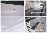 N & L Armario Mesas de tocador dormitorio ropa del armario con estante