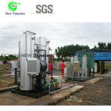 unidad pura de la deshidratación del gas natural de la capacidad del tratamiento 7000nm3/H