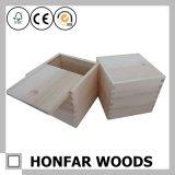 غيرمكتمل خاصّة [ووودن بوإكس] خشبيّة يعبّئ صندوق مع منزلق أعلى