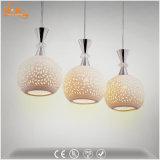 パターンが付いている卸し売り陶磁器LEDの軽い現代ペンダント灯