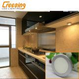 2W表面および引込められたインストールとのすべての家具の使用のための超薄いLEDの点ライト