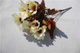 Fiori artificiali di seta poco costosi all'ingrosso della margherita per la decorazione