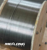 合金2507の極度のデュプレックスステンレス鋼のDownholeの油圧制御線コイル状の管