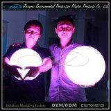 esfera do diodo emissor de luz da iluminação da decoração do diâmetro de 20cm