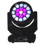 Occhi dell'ape di alto potere LED 19*12W che spostano testa e l'indicatore luminoso della fase
