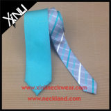 Man Fashion Polyester Woven Reversible Double Sided Necktie