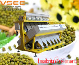 Machine de trieuse de couleur de fèves de Vsee mung, sélecteur de séparateur d'haricot vert