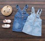 Falda de la liga del dril de algodón de la manera del desgaste del verano de las muchachas de los cabritos