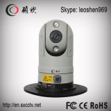 30XズームレンズCMOS 2.0MP 80mの夜間視界高速HD IRのパトカーPTZ CCTVのカメラ