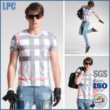 Tシャツを広告する卸し売り短い袖の通気性の方法
