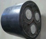 Multicore изолированная XLPE куртка PVC Yjlv22, силовой кабель алюминия Sta