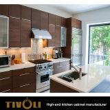 カスタマイズされたデザインConerのキャビネットの白い食器棚Tivo-0092V