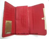 Бумажник PU Croco популярной конструкции женщин кожаный