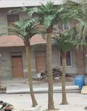 庭の装飾用のプラスチック人工的なココヤシの木の木