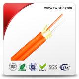 Tight Buffer de fibra óptica por cable (GJBFJV) con 24 Núcleo interior del desbloqueo