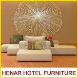 호텔 로비를 위한 현대 부분적인 소파 고정되는 가구에 자리를 주는 로비