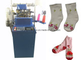 6f Automatic Plain & Terry Socks Knitting Machine Hj608TM