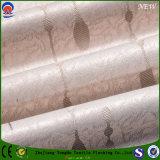 Materia textil casera 2017 que cubre la tela tejida apagón impermeable de la cortina del poliester del franco