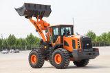 Machinerie de construction chinoise Chargeuse sur pneus 5 tonnes Ensign Yx655 avec contrôle mécanique
