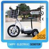 Preiswertes Lithium-batteriebetriebener drei Rad-elektrischer Roller für Erwachsenen