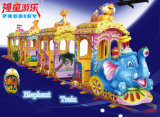 [أموسمنت برك] عمليّة ركوب كهربائيّة [تركلسّ] فيل قافلة تموين لأنّ أطفال