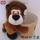 Bear Toy Plush Storage Bottle Pen Container for Kids