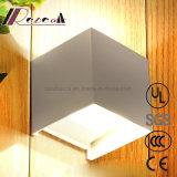 現代防水工学屋外の正方形の枕元の壁ランプ