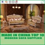 現代ホーム本革のソファーの家具