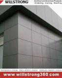 comitato composito di alluminio rivestito di 4mm PVDF per la parete divisoria