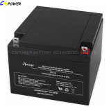 batteria ricaricabile del AGM sigillata 12V della batteria al piombo 24ah