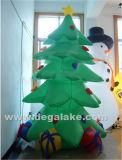 팽창식 크리스마스 훈장 나무 도매를 점화하는 LED