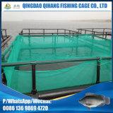 Gaiola popular dos peixes do HDPE de África para o cultivo do peixe-gato