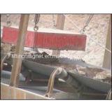 Type permanent séparateur magnétique rectangulaire pour la bande de conveyeur