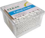 tamponi di cotone a gettare di trucco del bastone di plastica 500PCS/Bag per la famiglia