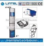 アルミニウム携帯用螺線形タワーの表示