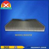 L'abitudine ha anodizzato il dissipatore di calore di alluminio con ISO9001 certificato