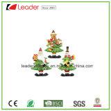 Магниты холодильника рождественской елки Polyresin для собрания сувенира