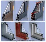 두 배 유리 As2047와 As2208를 가진 알루미늄 여닫이 창 Windows