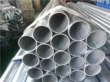 BS1387 classe B 33.4mm tubulação de aço galvanizada 1 polegada com embalagem plástica