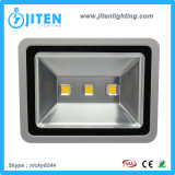 Outdoor Flood Light Fixtures 150W, COB Epistar Chip, caixa grossa