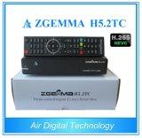 DVB-S2+2xdvb-T2/C si raddoppiano casella superiore stabilita di OS E2 di Zgemma H5.2tc Linux del decodificatore dei sintonizzatori Hevc/H. 265