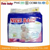 Migliori pannolini del bambino di media 48PCS, OEM la vostra fabbrica del pannolino di marca
