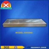 Disipador de calor de aluminio modificado para requisitos particulares para la electrónica con trabajar a máquina del CNC