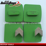 Redi Lock Diamante de la placa de molienda Arrow Diamond for Concrete