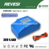 Dos Equilibrio del Li-ion de Samsung 36V4.4ah batería para scooter eléctrico